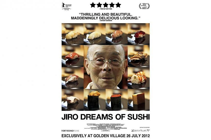 Master sushi chef Jiro Ono is featured in the documentary film, Jiro Dreams of Sushi. -- FILE PHOTO: PREFERRED CONTENT