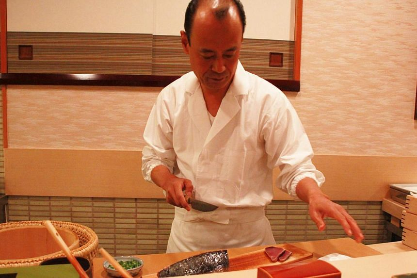 Takashi Ono is the younger son of Michelin-starred sushi chef Jiro Ono. He runs the only outpost of Sukiyabashi Jiro in Roppongi, about 5km from Sukiyabashi Jiro restaurant, the Ginza flagship located in the basement of an office building in Tokyo. -