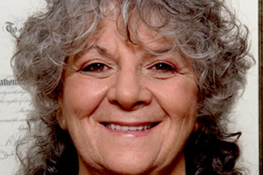 Professor Ada Yonath, recipient of the 2009 Nobel Prize in chemistry.Yesterday, she said that compared to students around the world, Singapore's are at the top. -- FILE PHOTO:ADA YONATH