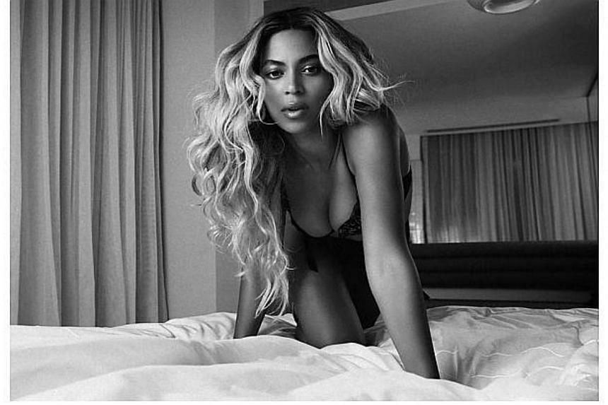 American singer Beyonce. -- FILE PHOTO: SONY MUSIC