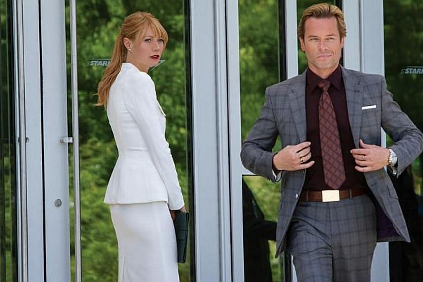Cinema still: Iron Man 3 starring Gwyneth Paltrow and Guy Pearce. -- FILE PHOTO: WALT DISNEY PICTURES