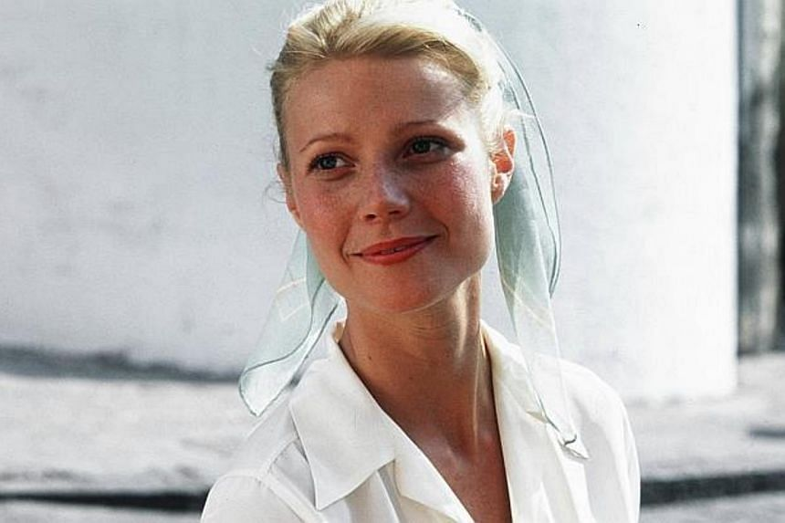 Gwyneth Paltrow, American actress. -- FILE PHOTO: PARAMOUNT