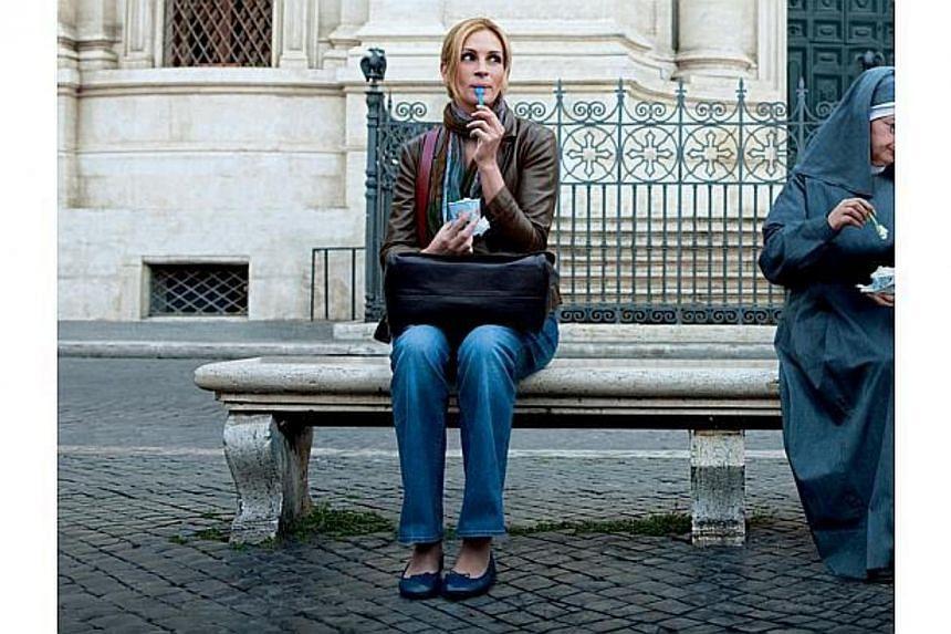Cinema still from the movie Eat Pray Love, starring Julia Roberts. -- FILE PHOTO: SINGTEL