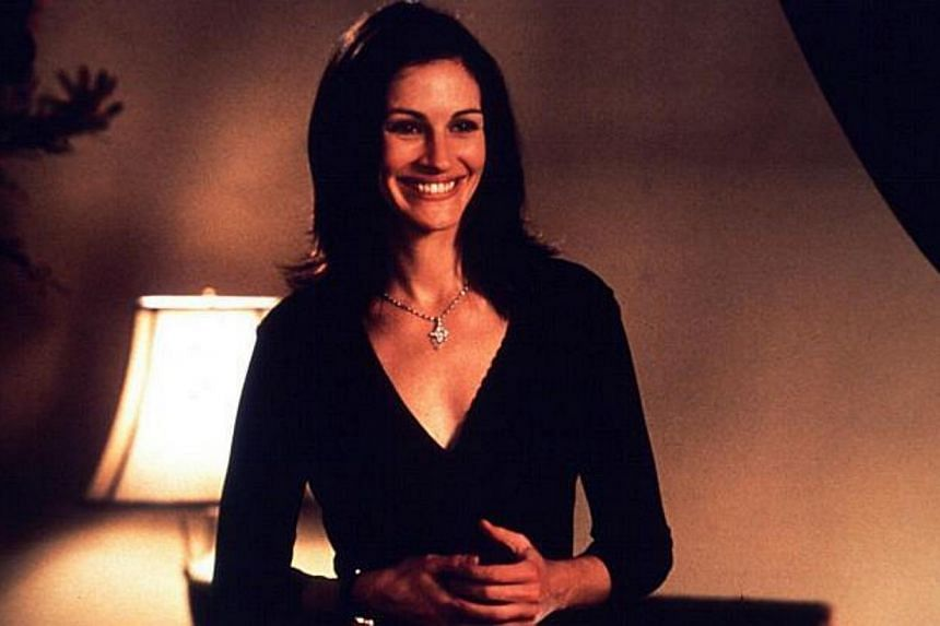 Cinema still from the movie America's Sweetheart, starring Julia Roberts. -- FILE PHOTO: COLUMBIA TRISTAR