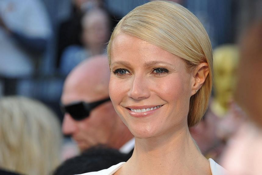 In this file photo dated on Feb 26, 2012 shows actress Gwyneth Paltrow arriving on the red carpet for the 84th Annual Academy Awards in Hollywood, California. -- FILE PHOTO: AFP
