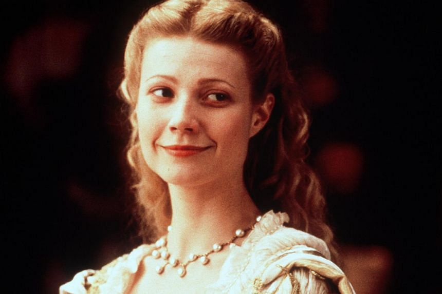 Cinema still: Shakespeare In Love StarringGwyneth Paltrow. -- FILE PHOTO: UNIVERSAL PICTURES