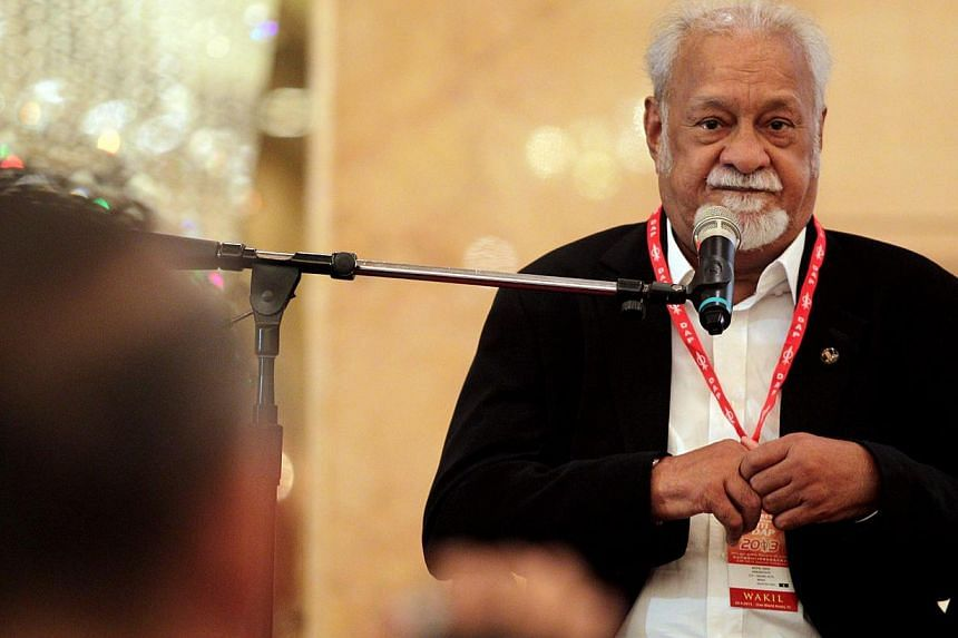 In the 2013 General Election, Mr Karpal retained the Bukit Gelugor seat in a straight fight, defeating Teh Beng Yeam from Barisan Nasional by a 41,778 vote-majority. -- FILE PHOTO: THE STAR PUBLICATION