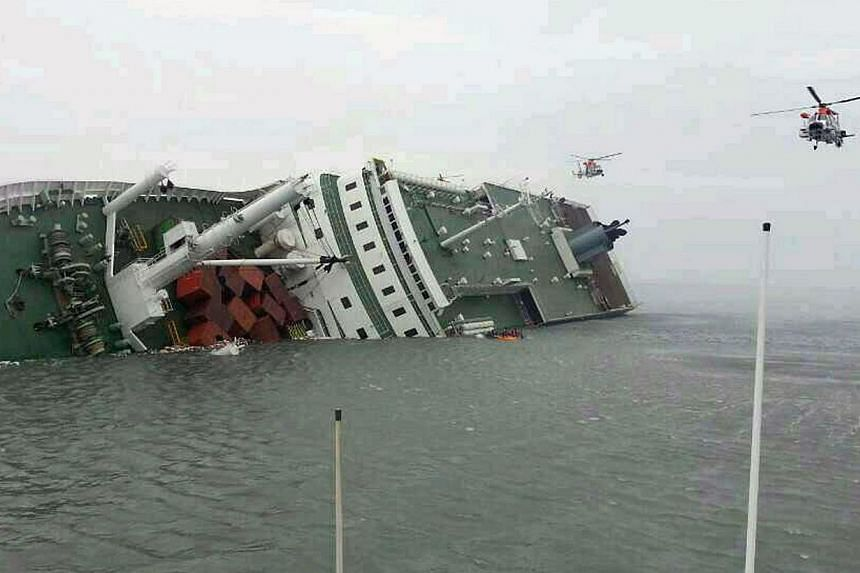 After the sinking of the ferry Sewol, tour companies in Seoul have seen more than half of their group tour reservations cancelled as of April 18, according to the Korea Tourism Association. -- FILE PHOTO: AFP