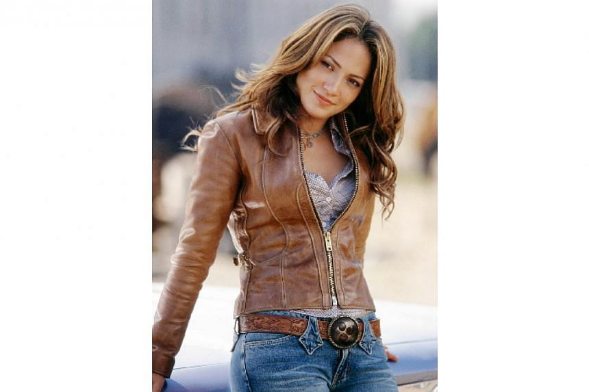 Actress Jennifer Lopez from her film Gigli in this undated publicity photograph. -- FILE PHOTO: COLUMBIA PICTURES