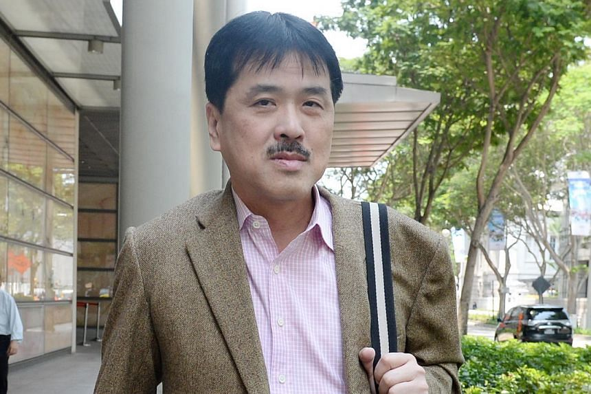 Mr Hii is suing the National Cancer Centre Singapore and surgeon Dr Ooi over his major surgery.