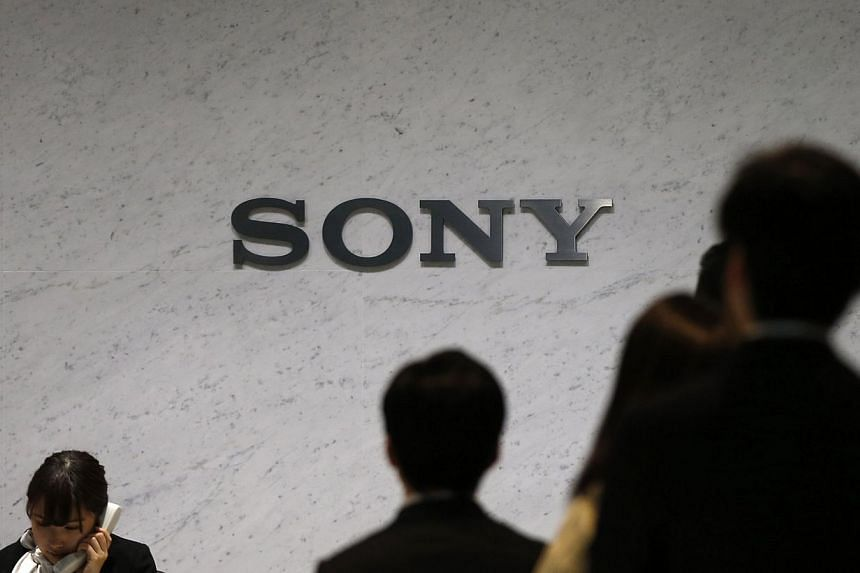 Sony Corp's logo is seen at the headquarters in Tokyo on Feb 6, 2014. -- FILE PHOTO: REUTERS