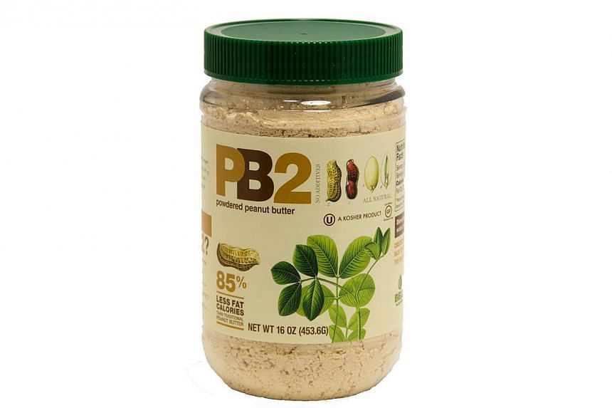 PB2, powdered peanut butter made by Bell Plantation. -- PHOTO: BELL PLANTATION/ FACEBOOK