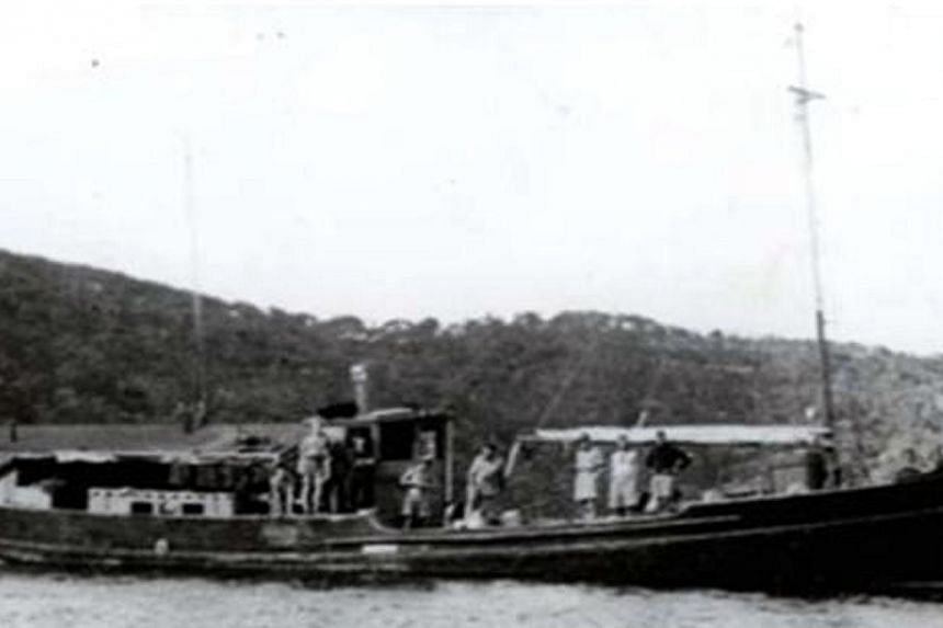 The Krait, a vessel with fourteen commandos from Z Special Unit who set sail from their Australian base in September 1943.-- FILE PHOTO:THE CHANGI MUSEUM