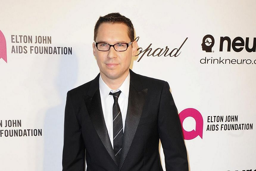 """Bryan Singer arrives at the 2014 Elton John AIDS Foundation Oscar Party in West Hollywood, California March 2, 2014.The director of the forthcoming X-Men film on Thursday called claims that he sexually abused a teen more than a decade ago a """"si"""