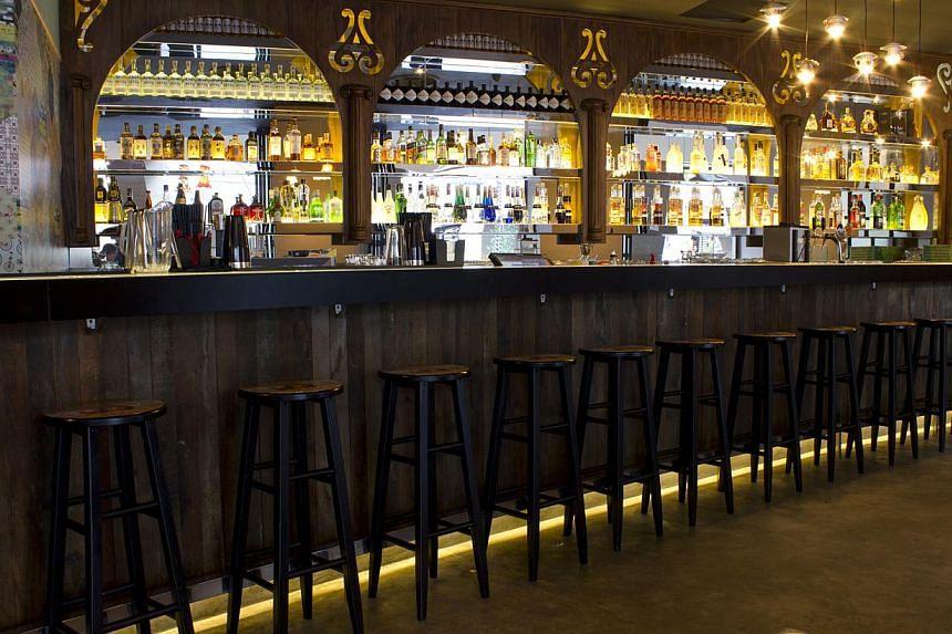 The interior of Sauce Bar located at Esplanade Mall. -- PHOTO:SAUCE BAR