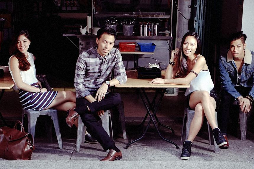 Home-grown indie band The Sam Willows will also be performing at Musicity Singapore 2014. -- PHOTO: MARC NAIR