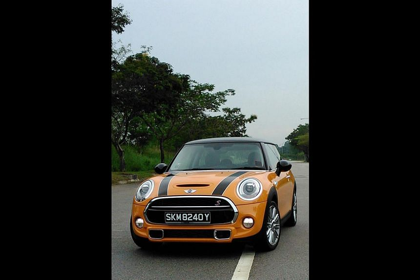 The new Mini Cooper S is bigger than the previous model, and boasts far better build quality.