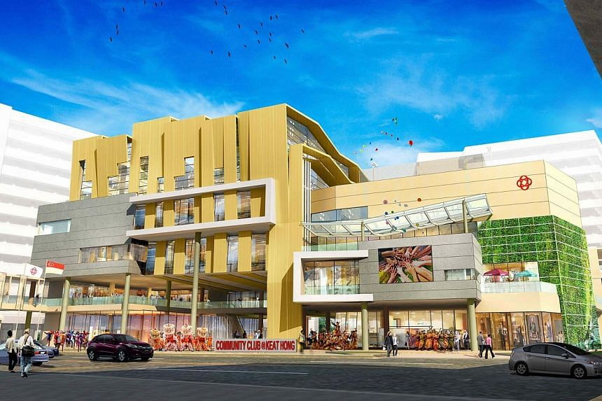 Artist's impression of the new community club at Keat Hong. -- PHOTO: PEOPLE'S ASSOCIATION