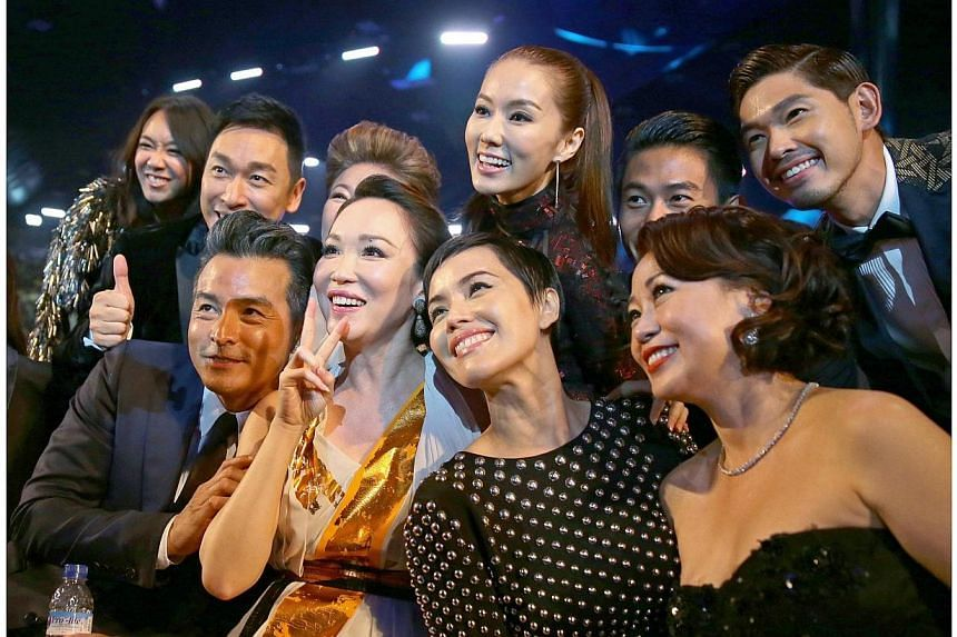 The Star Awards 2014 Show 2. -- NP PHOTO: GAVIN FOO