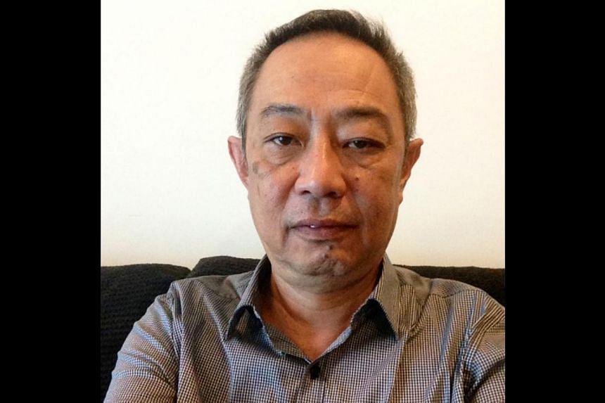 BEFORE:Mr Dennis Foo. --PHOTO: COURTESY OF DENNIS FOO