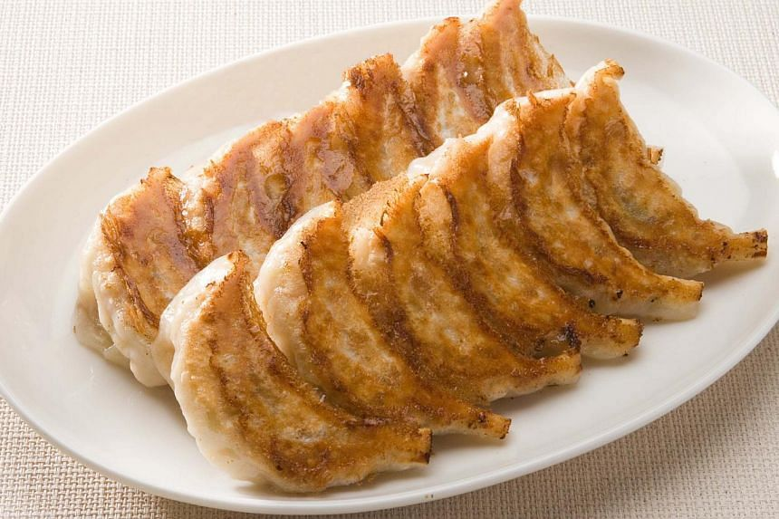 Japanese dumplings. -- PHOTO: OSAKA OHSHO