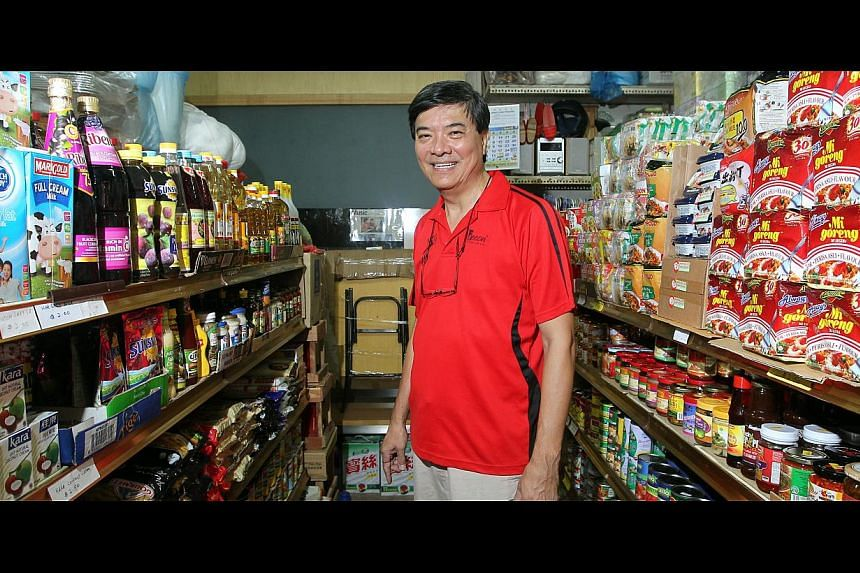 Roast meat eatery owner Yip Kwok Ching is moving out after his landlord upped the rental for the shop unit from $8,000 to $12,000 a month, while hardware shop-owner Michael Chan and provision shop-owner Rodney Goh (above) say they have been offered u