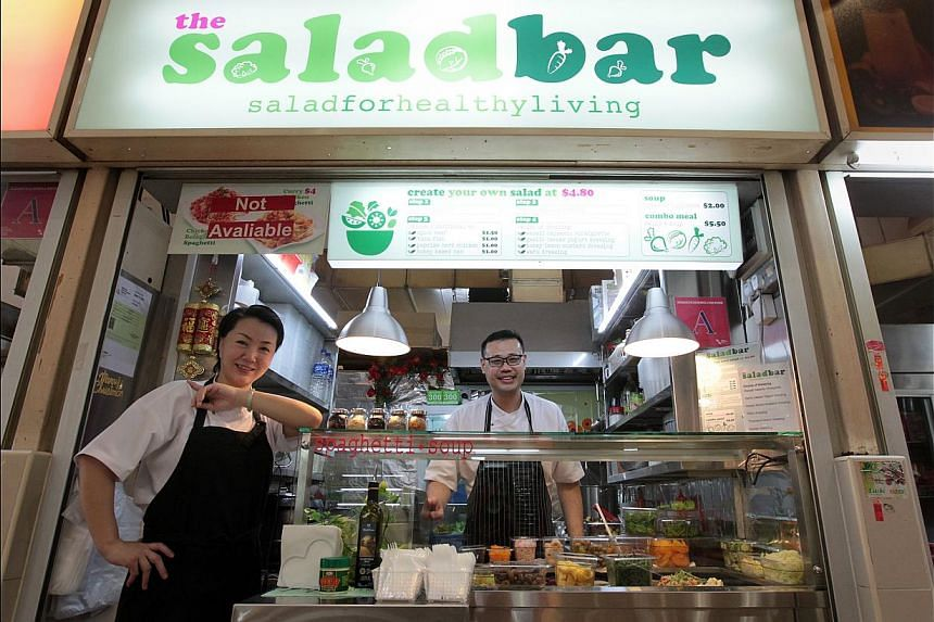 The new shop is run by husband-and-wife duo David Low, 38, and Qi Qi (both above). -- ST PHOTO: NEO XIAOBIN