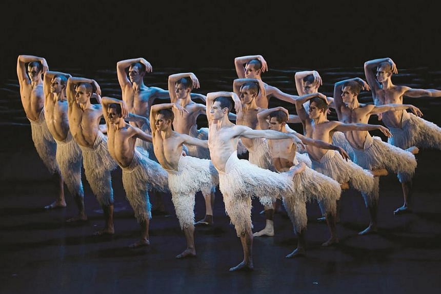 Production pictures from Matthew Bourne's Swan Lake. British choreographer Matthew Bourne's groundbreaking and critically-acclaimed interpretation of the classic ballet Swan Lake will be the opening show for this year's da:ns Festival at the Esp