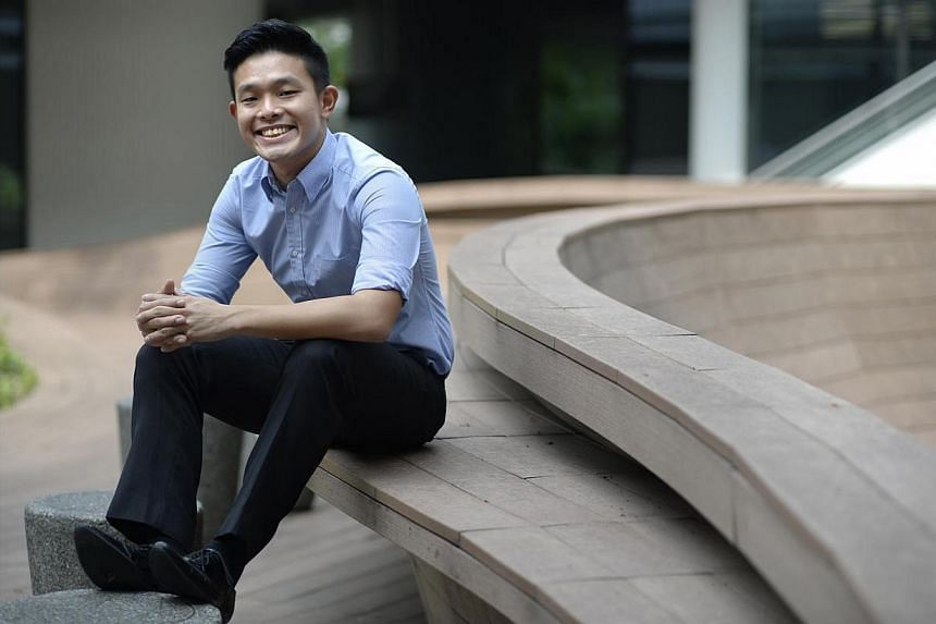 Mr David Hoe, an undergraduate at the National University of Singapore (NUS), is one of the speakers at the inaugural The Straits Times Education Forum, to be held at the Singapore Management University, Mochtar Riady Auditorium on May 4, 2014.