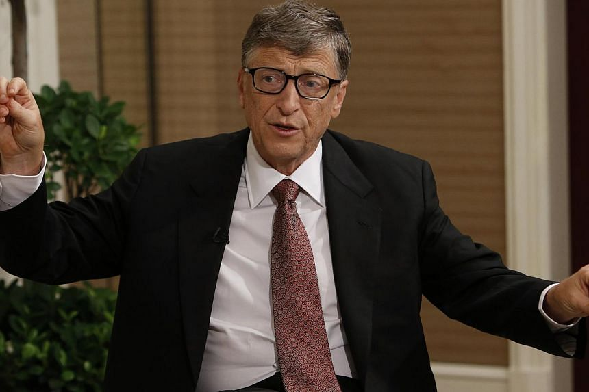 """Mr Gates wrote in an editorial: """"Investing for the poor requires participation from the entire community."""" -- FILE PHOTO: REUTERS"""