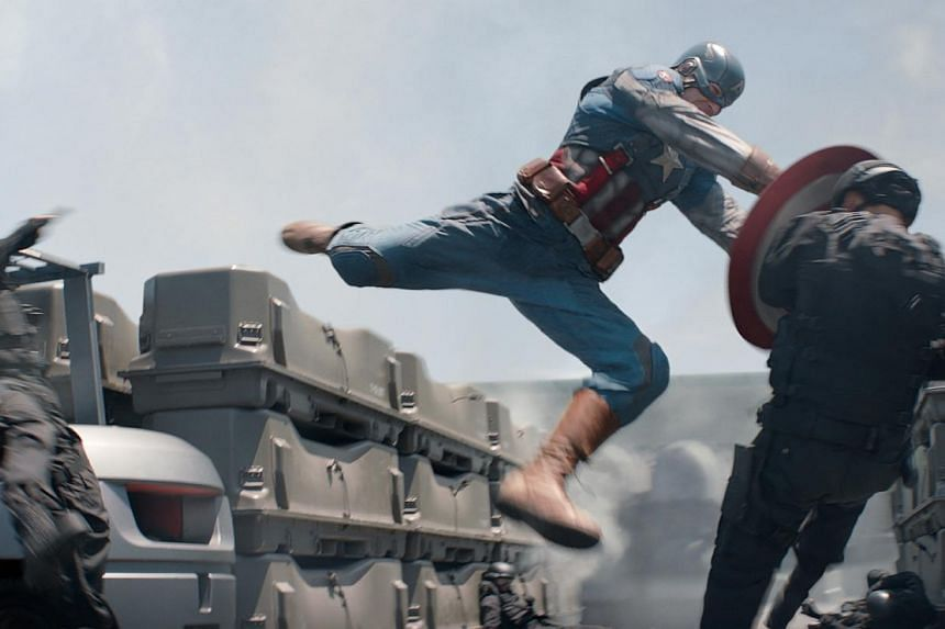 Cinema still: Captain America: The Winter Soldier. Hollywood is remaking one of its most cherished traditions: the summer blockbuster. -- FILE PHOTO: DISNEY