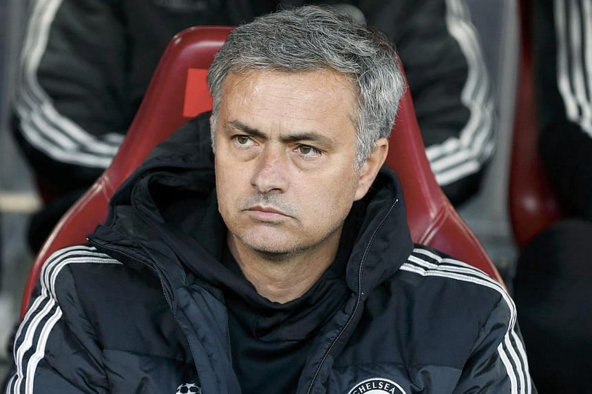 Manager Jose Mourinho may not be providing the kind of swashbuckling football armchair fans salivate over but it is mighty effective and further evidence that when it comes to pouring water all over the barbecue, he is still the master. -- FILE PHOTO