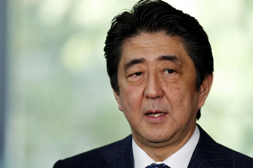 Japanese Prime Minister Shinzo Abe leaves on Tuesday, April 29, 2014, for a six-nation European tour, hoping to move ahead on trade talks and possible security deals at a time when China is flexing its muscles. -- FILE PHOTO: REUTERS