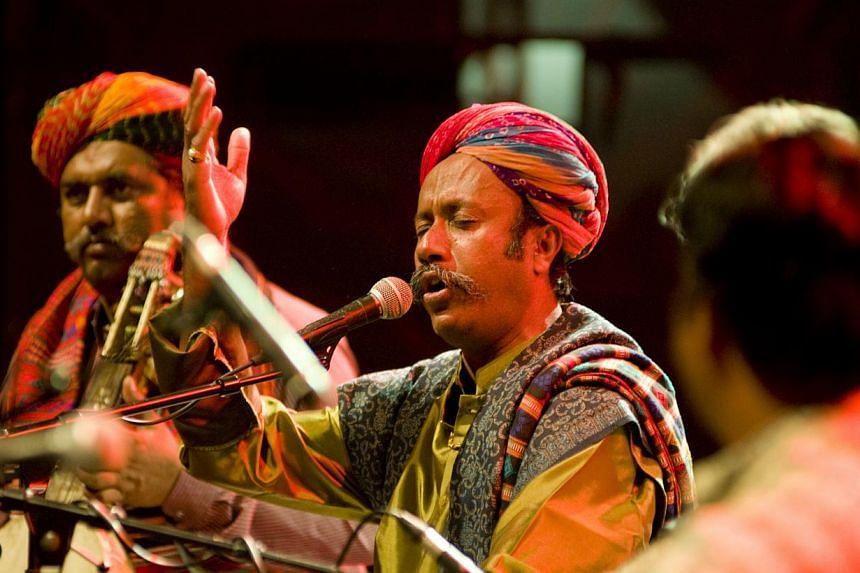 The Divana Ensemble from Rajasthan. -- PHOTO: THE ESPLANADE