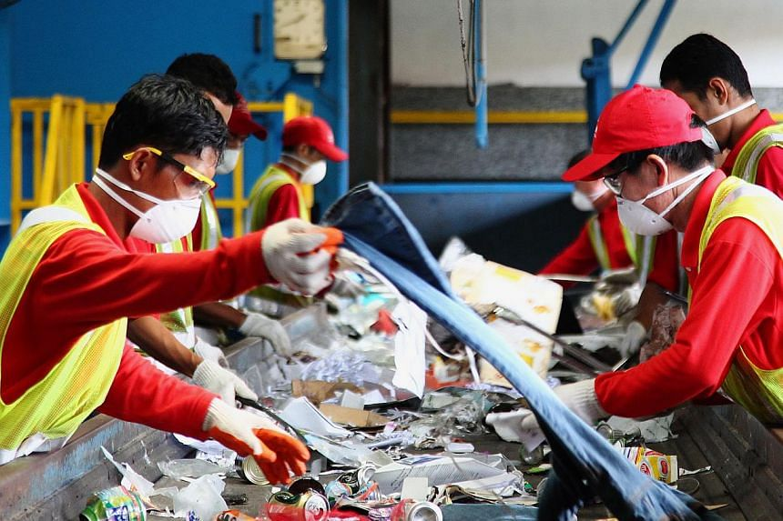 Singapore dumped a record high 796,000 tonnes of food last year. Only about 13 per cent was recycled. The amount of food waste – including cooked food and expired packaged products – last year was a 42.4 per cent leap from the 2007 figure, far ou