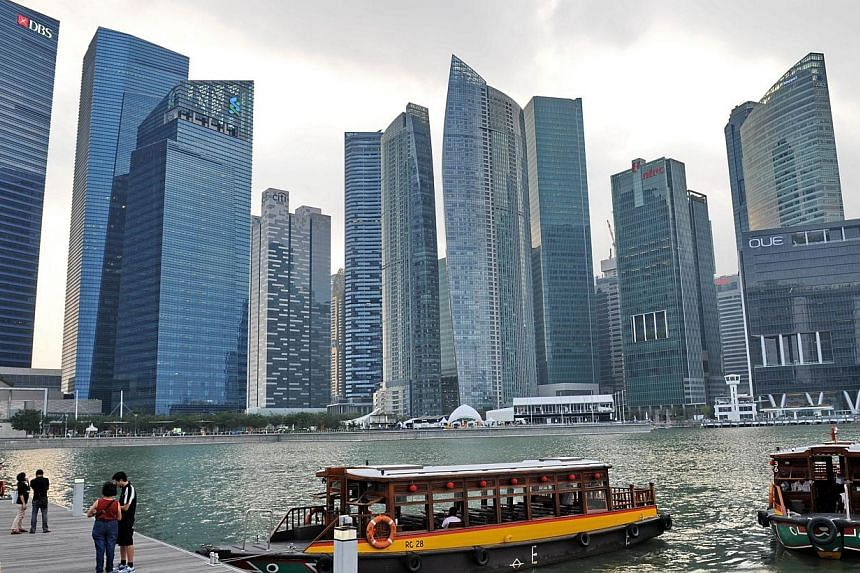 "SINGAPORE's ongoing economic restructuring efforts toward productivity-led growth will throw up further ""transitional frictions"" such as higher labour costs, which will weigh on overall growth, said the Monetary Authority of Singapore on Tuesday. --"