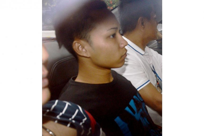 Muhammed Fazrie Mohammad Ridzuan, 22, is accused for the murder of Lee Ping Yeng, 88, at Teck Whye Lane. -- ST PHOTO: SHINMIN