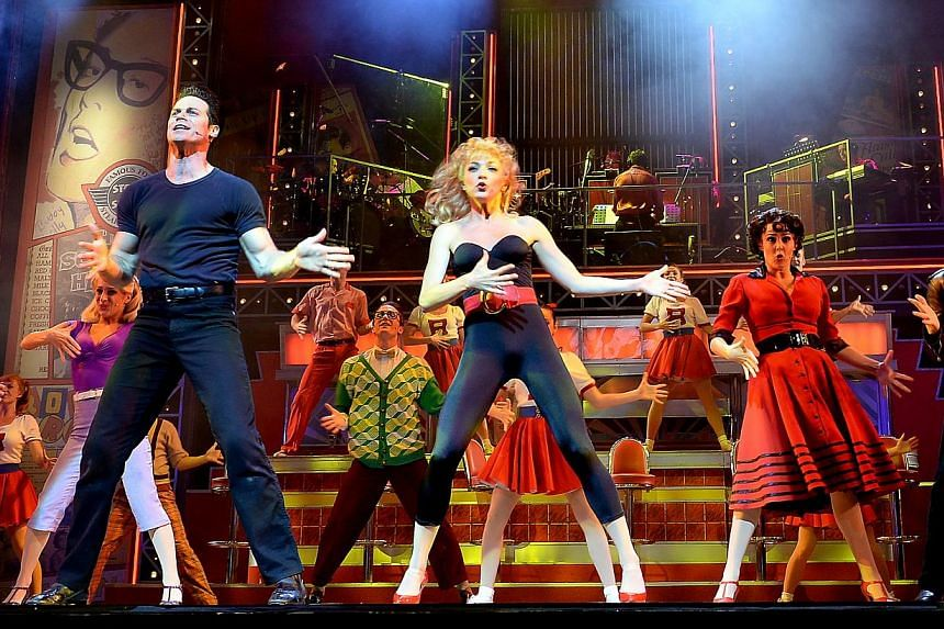 Grease the Musical. -- BH PHOTO: MOHD TAUFIK A KADER