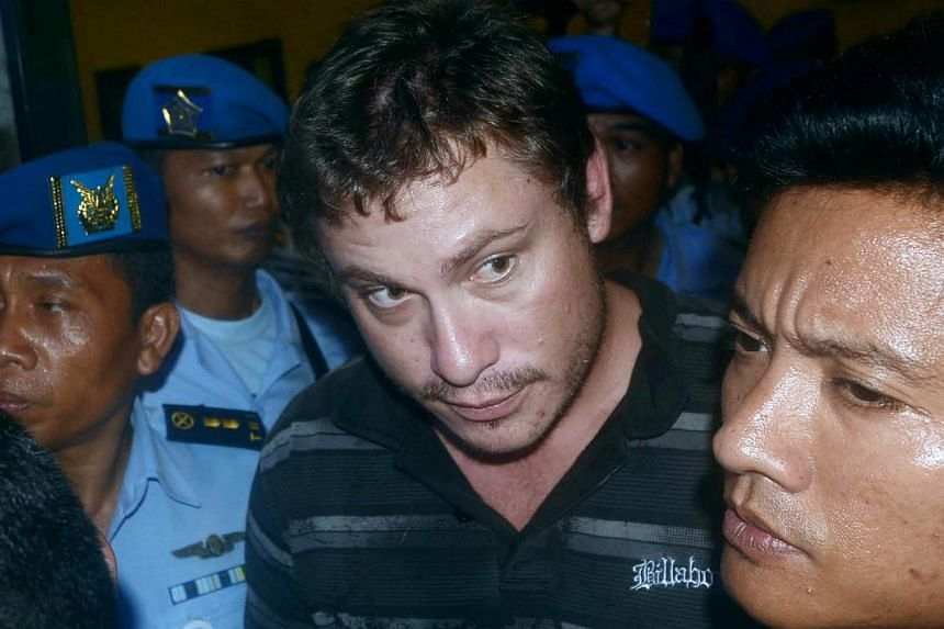 Matt Lockley, who has said he mistook the cockpit of the Virgin Australia jet for the toilet, was released by the Indonesian authorities on Sunday without charge and arrived back in Australia early on Tuesday, where he was met by the police. -- FILE