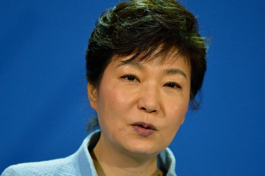 South Korean President Park Geun Hye apologised on Tuesday for her government's failure to prevent a ferry disaster that left some 300 people dead or missing, and the inadequate emergency response. -- FILE PHOTO: AFP