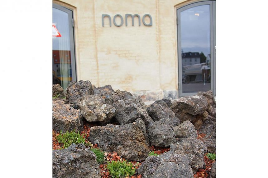 """Rene Redzepi's architects spent a year and """"a lot"""" of money studying the coastline and recreating it at Noma's doorstep with vegetation from the coast of Scandinavia and rocks from Iceland. -- FILE PHOTO: NOMA"""