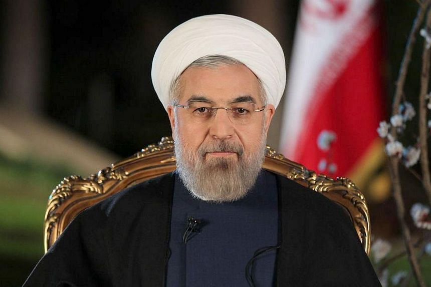 Iran's President Hassan Rouhani on Tuesday, April 29, 2014, derided hardliners critical of his style of governance and outreach to the West, saying they do not speak for the country. -- FILE PHOTO: AFP
