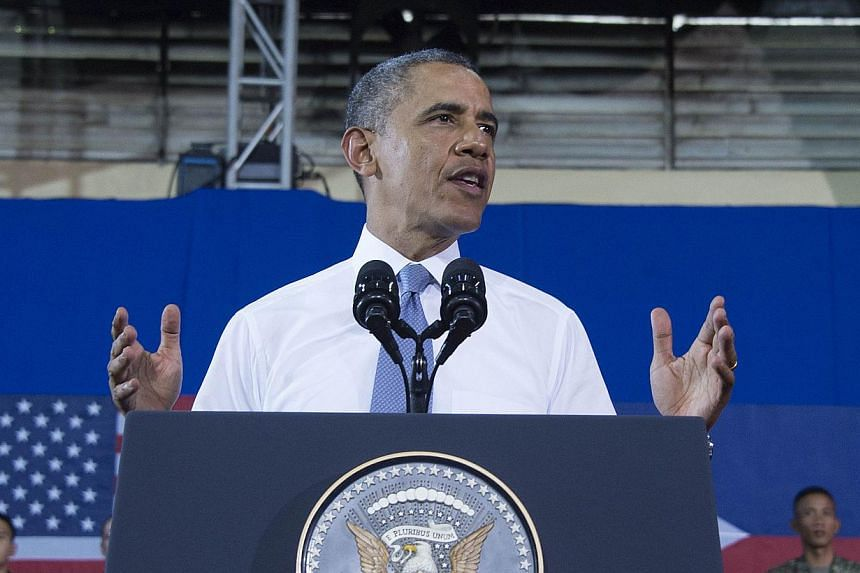 A major Chinese newspaper hit out at United States President Barack Obama on Tuesday after the President said Washington was not seeking to counter Beijing's influence in the Asia-Pacific. -- FILE PHOTO: AFP