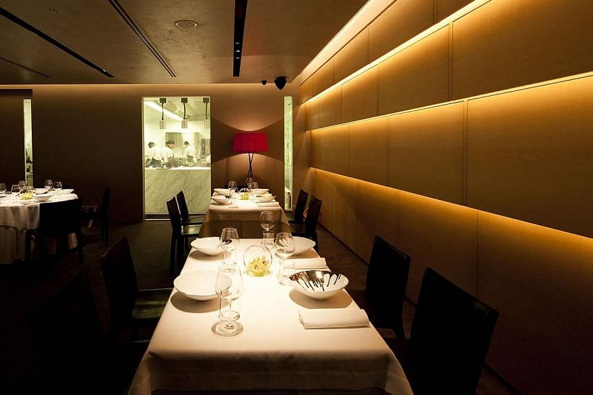 Interior of Iggy's restaurant at The Hilton. -- FILE PHOTO: IGGY'S