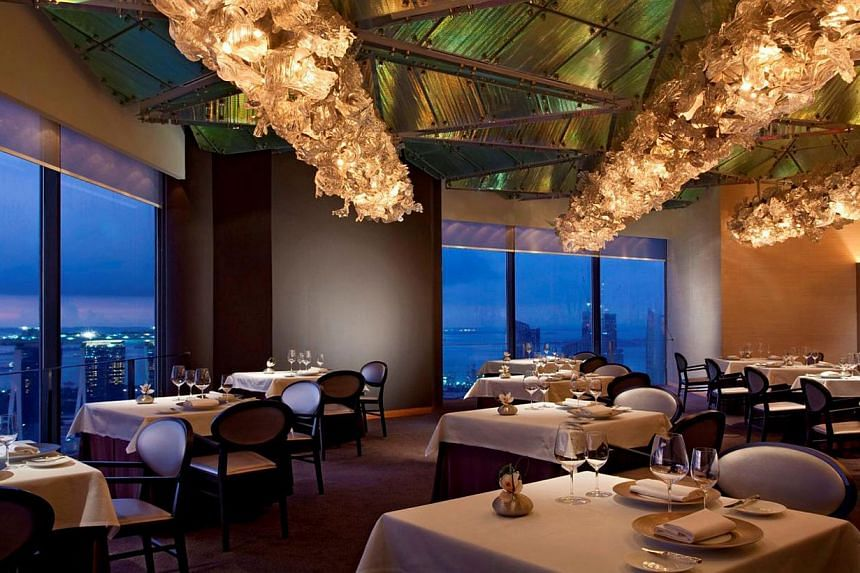 Jaan, a fine-dining restaurant at Swissotel The Stamford. -- FILE PHOTO: JAAN