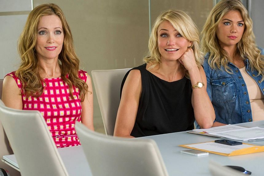 Stills from The Other Woman starring Cameron Diaz and Leslie Manna and Kate Upton. -- FILE PHOTO: FOX
