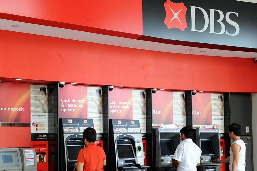 DBS' total income rose 6 per cent from a year ago to a new high of $2.45 billion on the back of higher net interest margin, loan volumes and customer non-interest income. -- ST FILE PHOTO: AZIZ HUSSIN