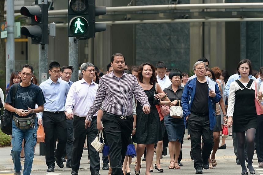 The Workers' Party has urged all employers to appreciate the value of mature workers, as Singapore celebrates Labour Day on Thursday, May 1, 2014. -- ST FILE PHOTO: NG SOR LUAN