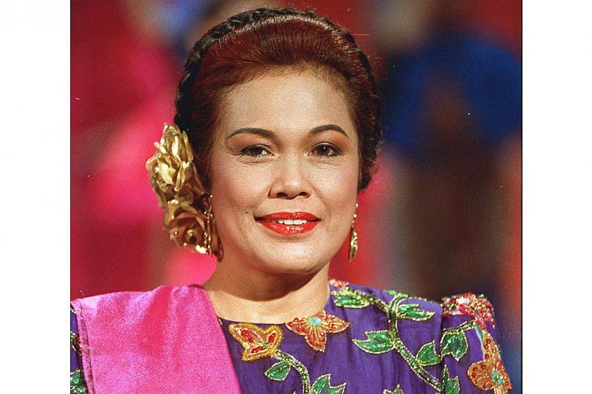 Kartina Dahari, a veteran singer now retired. -- BH FILE PHOTO: M. O. SALLEH