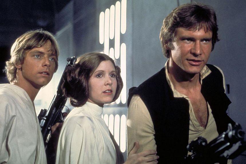 Cinema still: Star Wars: Episode IV, A New Hope. -- FILE PHOTO: HANDOUT